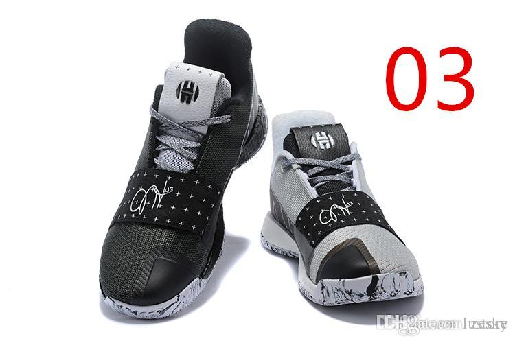 25f6ab6457f Cheap 2019 HOT SALE Harden Vol. 3 MVP Basketball Shoes Men Red Grey Black  James Harden 3s III Outdoor Trainers Sports Running Shoes Zesky