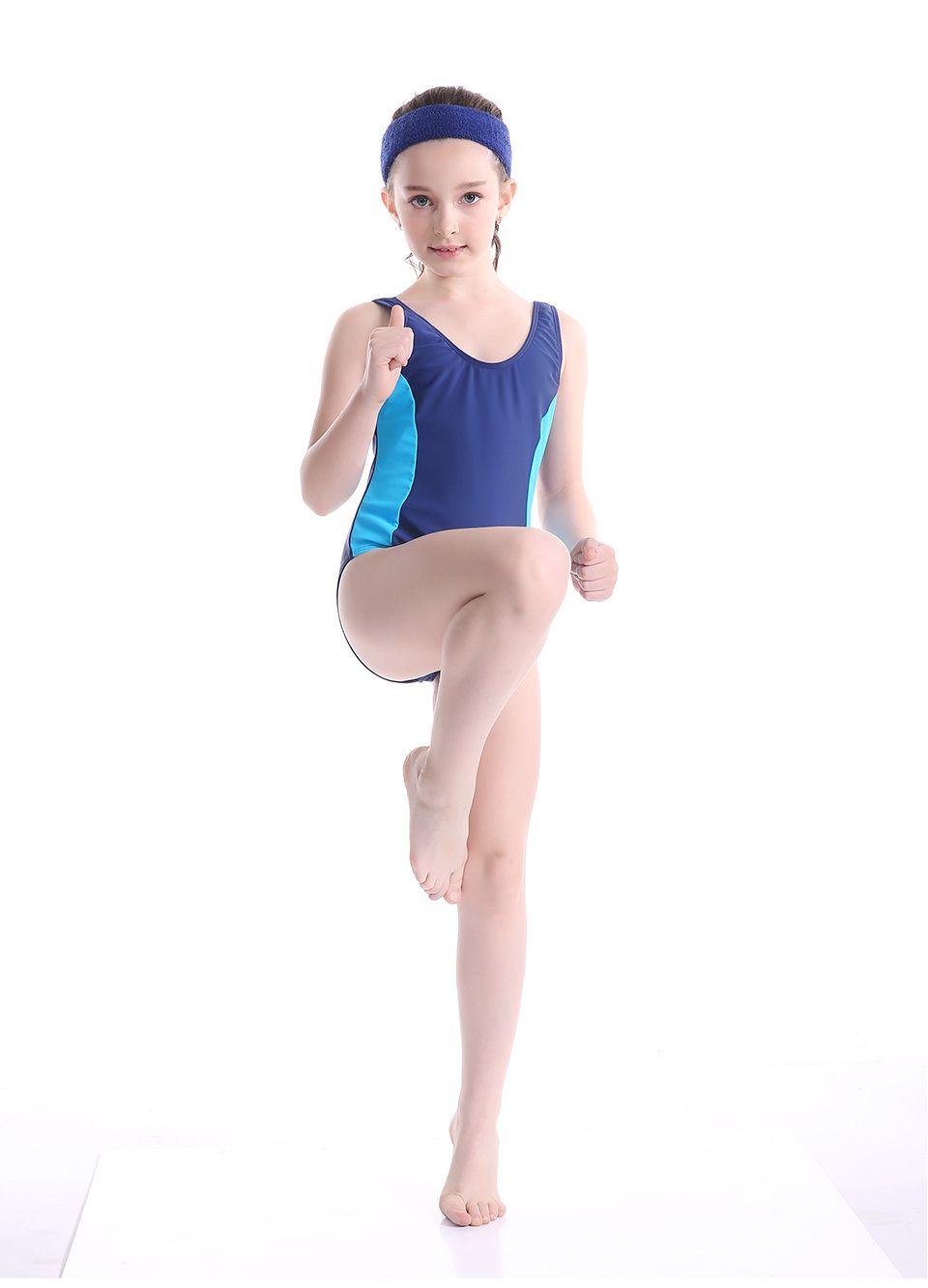 bikinis 2019 mujer Children Swimwear Girls One-piece Sport Swimsuit Kids Professional Swimsuit Beach Wear Bathing Suit thong set