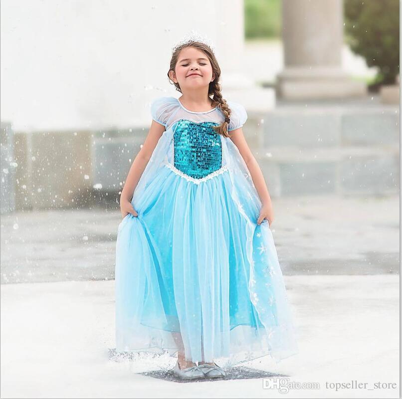 cd1f56177db1b1 Filles Robe Cosplay La Belle Au Bois Dormant Robes De Princesse Costume De  Noël Fête Enfants Enfants Vêtements Vêtements Robe De Fille