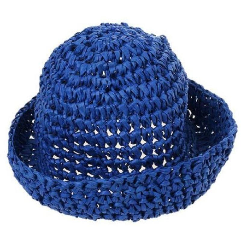 Fashion Female Girl Edge Summer Beach Sun Hat Straw Paper Floppy Country  Style Hat Clothes Accessories Wide Brim Hat Tea Party Hats From Value222 302a38be48c