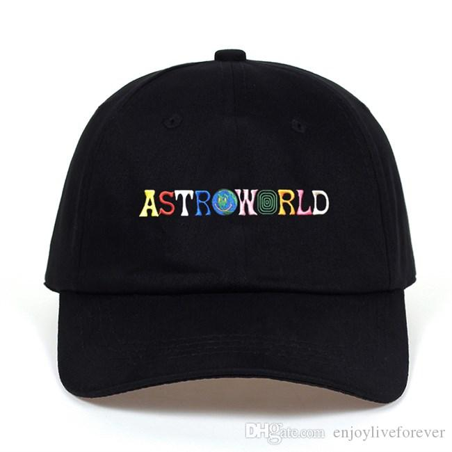 3b59bbb0700 Top Selling Unisex Sports Cotton Caps Astroworld Embroidery Baseball ...