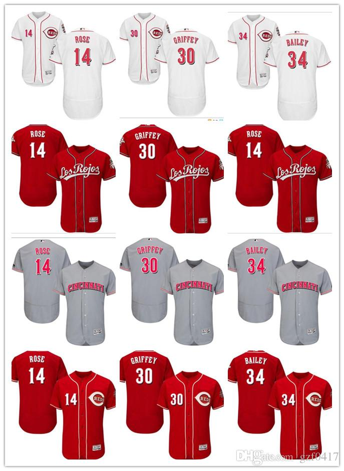 768600581fd ... ireland 2019 custom mens women cincinnati reds jersey 14 pete rose 30  ken griffey 34 homer