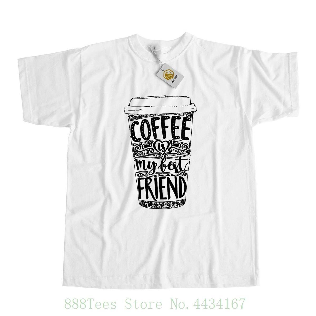 Coffee Maniac T Shirt , Original And Unique Shirt For Coffee Lover , Coffee  Is My Best Friend 2018 Latest