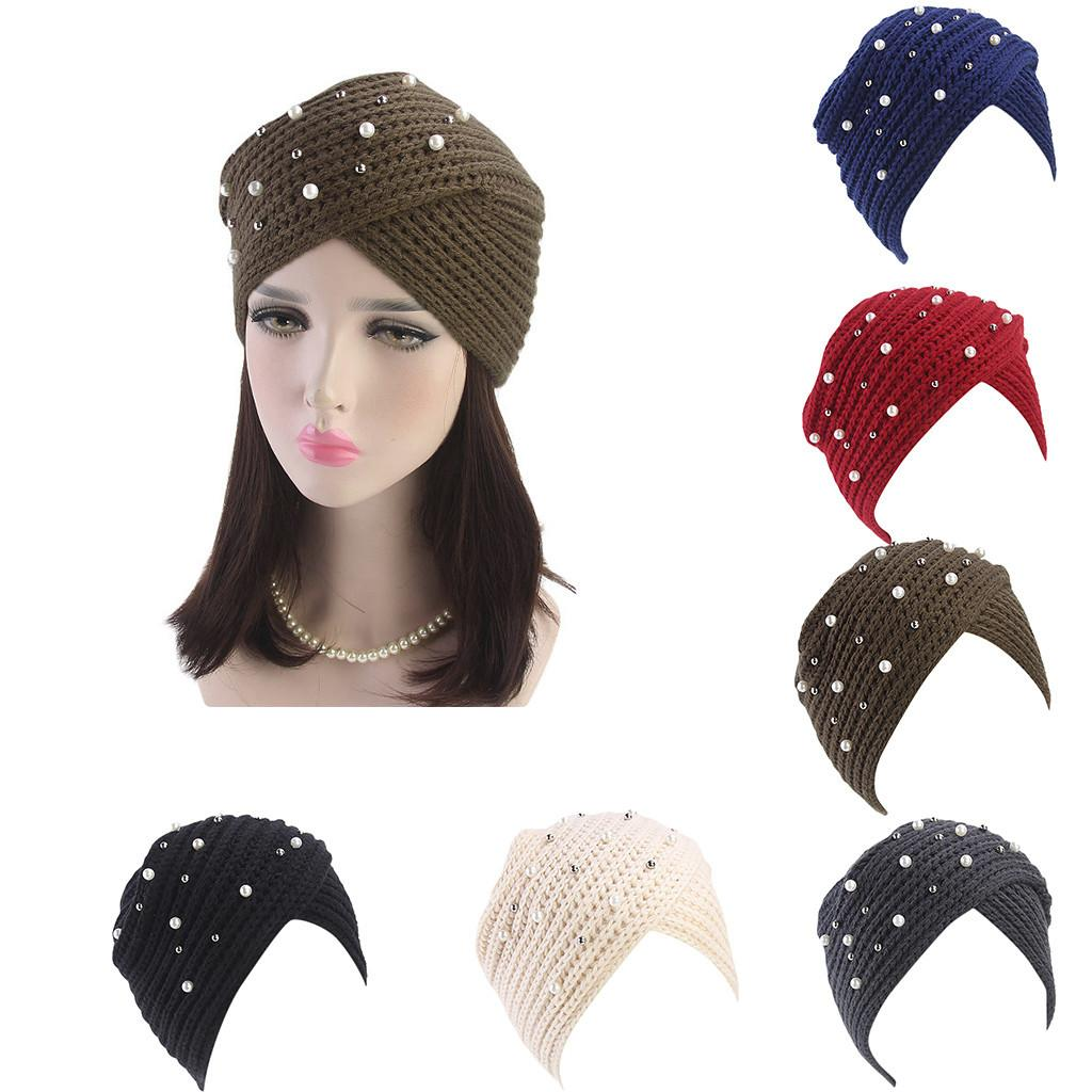 cbd070c66d3 New Style Winter Warm Knitted Hats For Women Double Layer Thermal Lined  Beanie Cap Women Retro Multicolor Skullies Hat Type  L4 Cool Beanies Beanie  Caps ...
