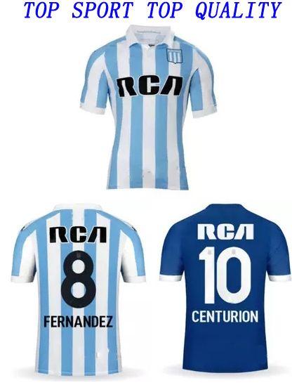 2019 18 19 Racing Soccer Jerseys Racing Club De Avellaneda Home Away Third Football  Shirt 2018 19 CENTURION BOU Soccer Shirts Sports Uniforms From ... 9af5613a3