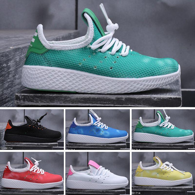 Trainer Race Laufschuhe Williams Hu New Human Herren Designer Trail Für Kinder Damen Sports 2019 Adidas Tennis Sneakers Pharrell Neutrale g76bfy