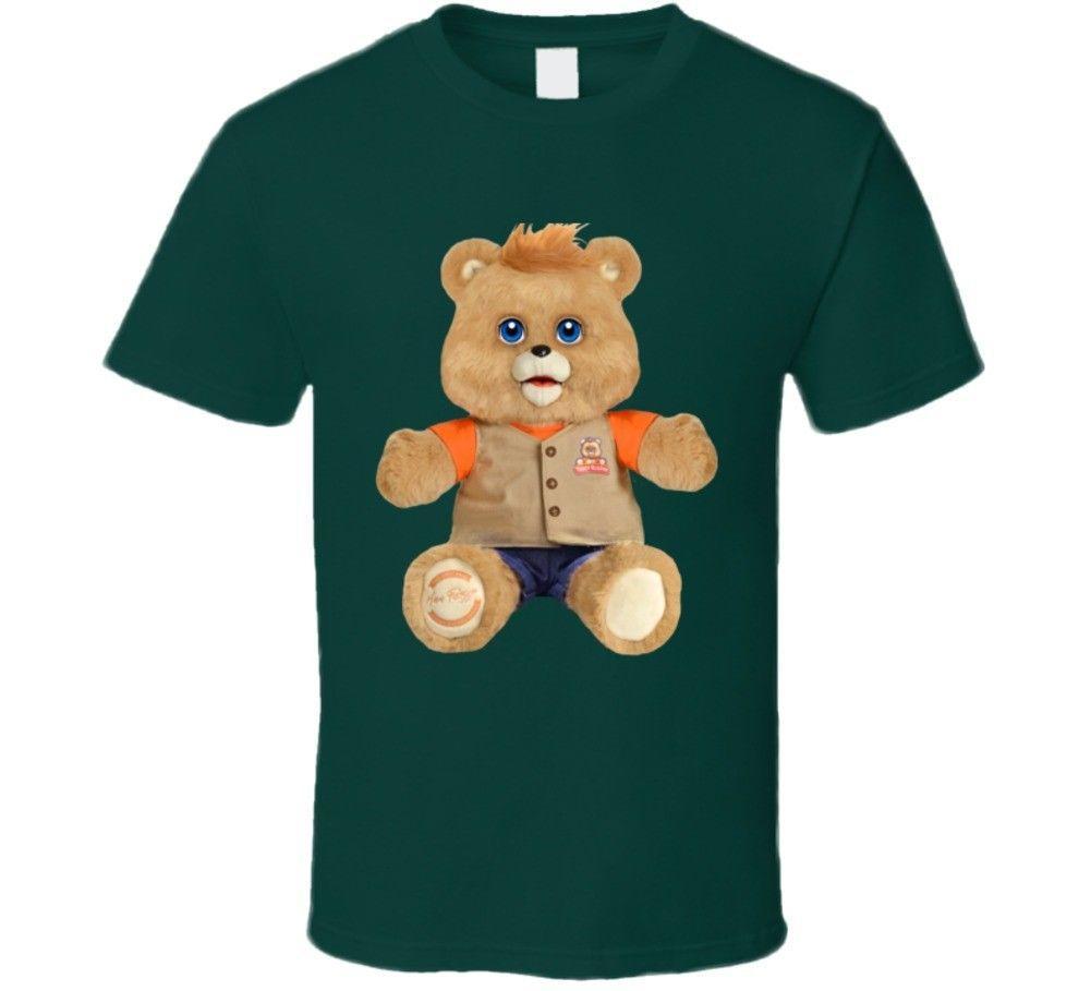 3977220dd64c3 Compre teddy ruxpin talking bear retro vintage fan shirt divertido envío  gratis unisex casual a del