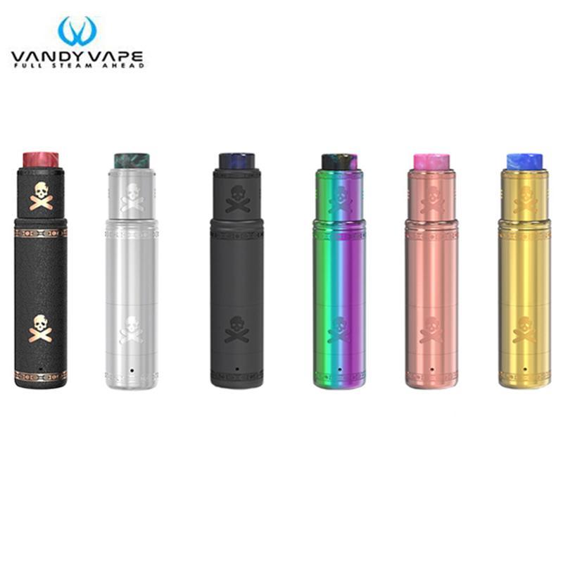 Original Vandy Vape Bonza Kit Bonza Mech MOD with V1 5 RDA Vandyvape  Electronic Cigarette Vape Pen Fit 18650 20700 Battery