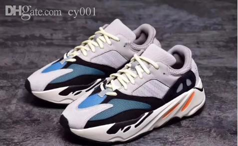 2658f38aec830 High Quality Wave Runner 700 Real Boost Womens Mens Running Shoes Design By Kanye  West Season5 700s Sneakers Size 36 46 Christmas Gift Work Shoes Sneakers ...