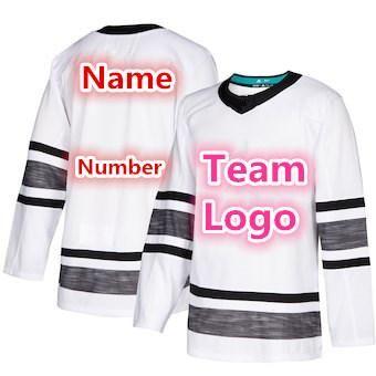 2d207cbac 2019 NHL All Star Hockey 88 Brent Burns 29 Marc-Andre Fleury 7 ...
