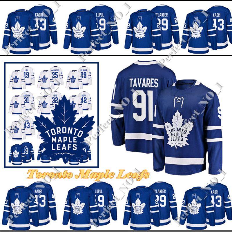 9709a603f36 91 John Tavares Mens New Toronto Maple Leafs Jersey 34 Auston ...