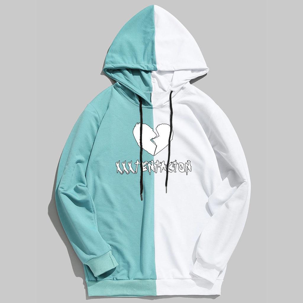 1afea7475036d 2019 Xxxtentacion Hoodies Bts Womens Hoodies Pullover Patchwork Korean  Streetwear Hoodie Sweatshirt Bts Kpop Plus Size Hoodie Tops From Estacyliu,  ...