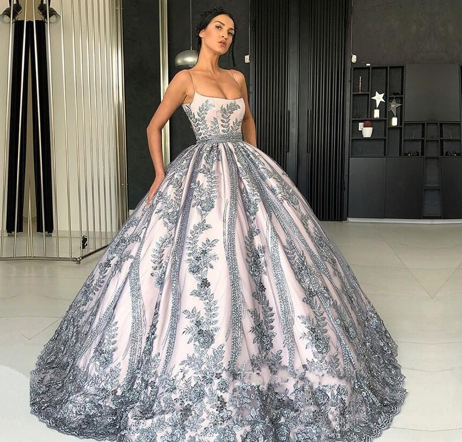 6f75d476c78 2019 Cheap Spaghetti Straps Quinceanera Dress Sleeveless Formal Princess  Sweet 16 Ages Girls Prom Party Pageant Gown Plus Size Custom Made Magenta  ...