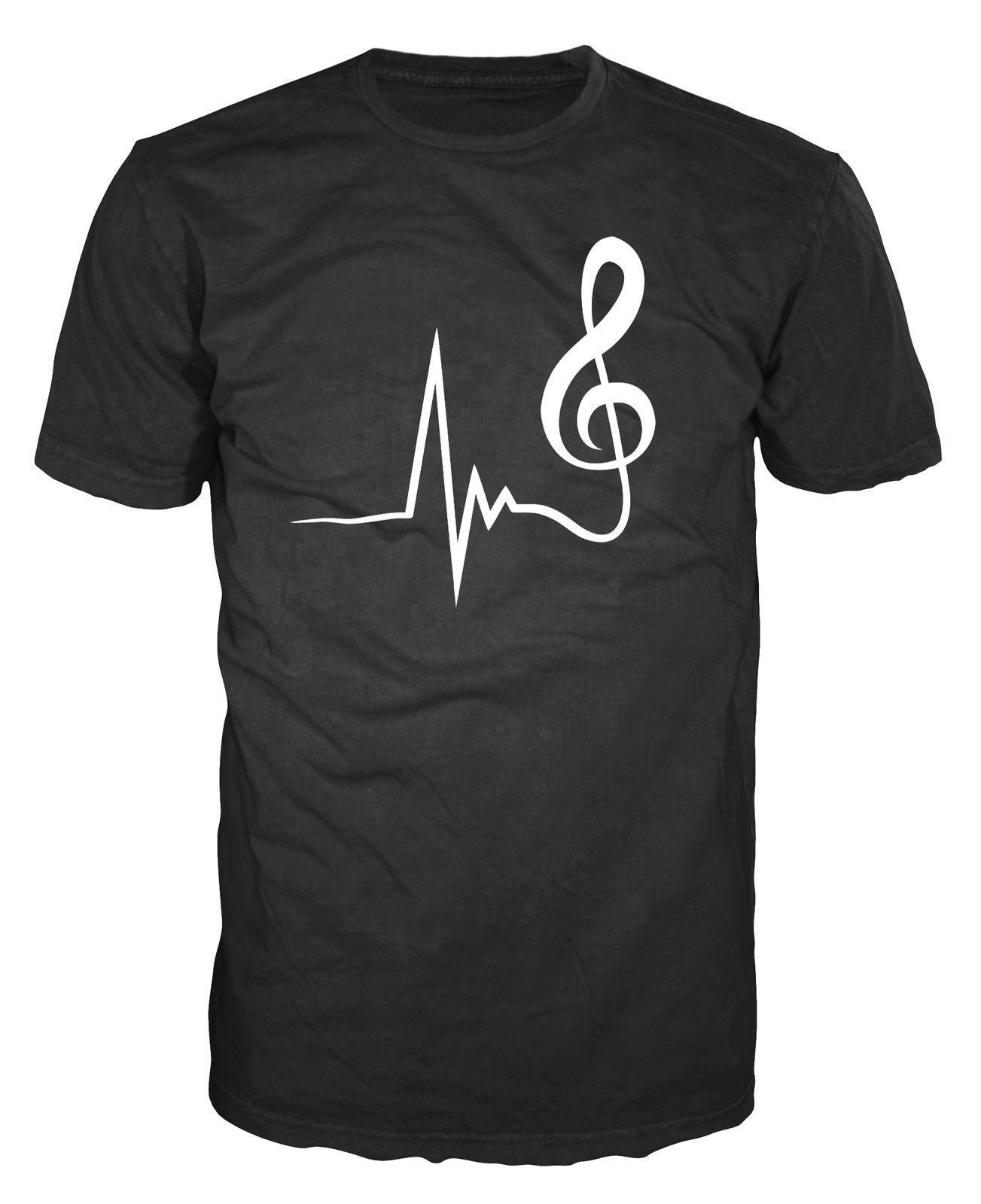 Compre Nota Musical Banda Urbana Músico Instrumento Guitarrista DJ  Productor Camiseta Camiseta Divertida Hombres Alta Calidad Tops Camisetas  Hombres 100% ... f51f1301f1cdd