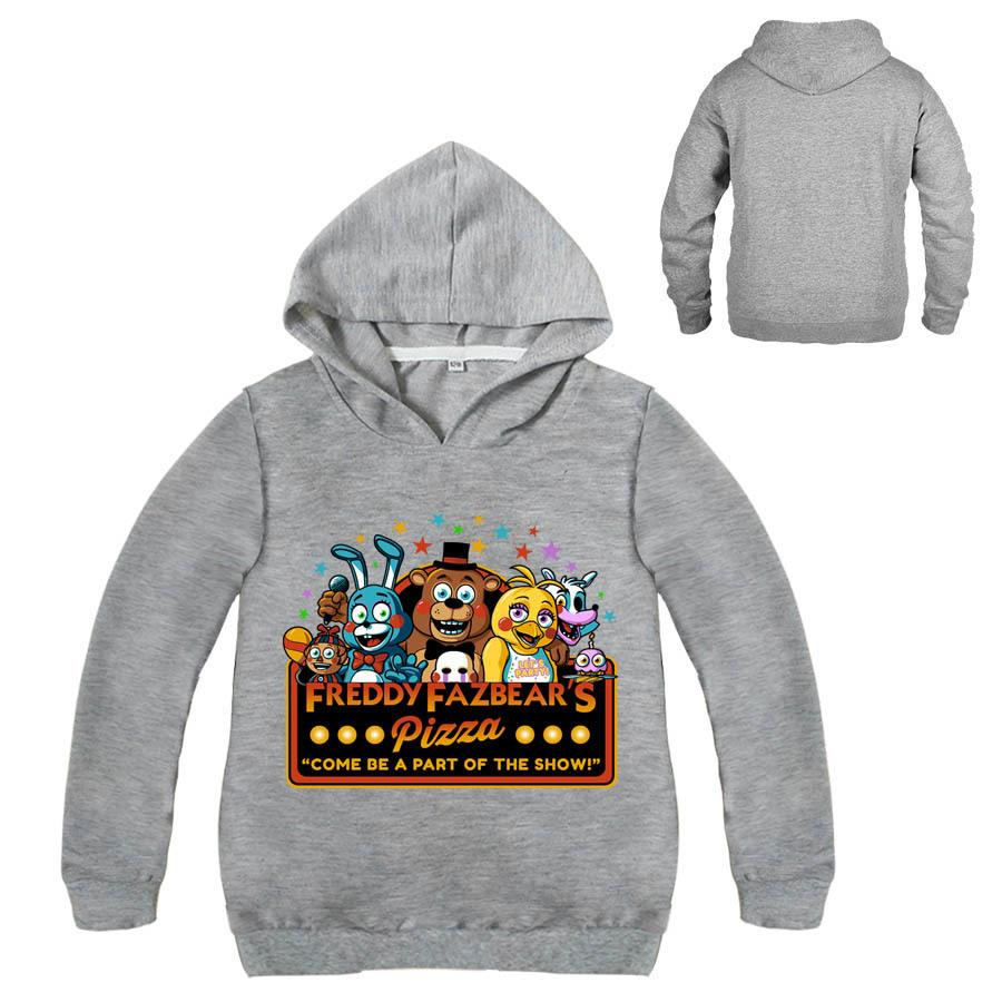 2952c6cb85f20 Boys clothes cartoon children long sleeves t shirts five nights at freddy's  clothing camiseta kids t-shirt 5 freddys tops Hoodie