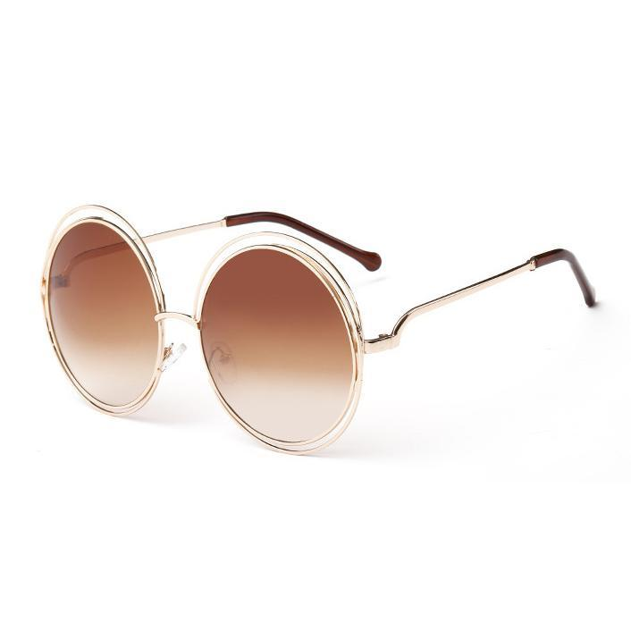 abea29cfc8f Vintage Round Big Oversized Lens Mirror Brand Designer Pink Sunglasses Lady  Cool Retro UV400 Women Sun Glasses Female John Lennon Sunglasses Wiley X ...