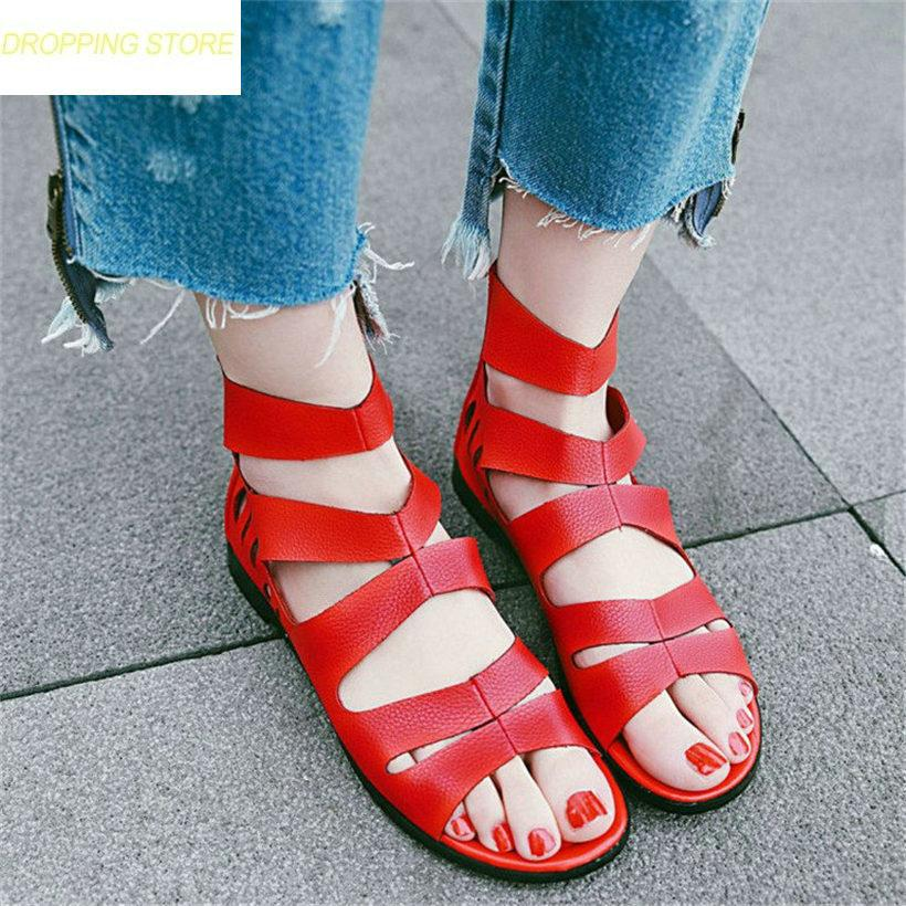 49be6d8c4b89e1 Women Roman Gladiators Sandals Ankle Strappy Flats Oxfords Open Toe Summer  Party Shoes Cove Heel Platform Sandals Cheap Shoes Wedge Sneakers From  Facebooks