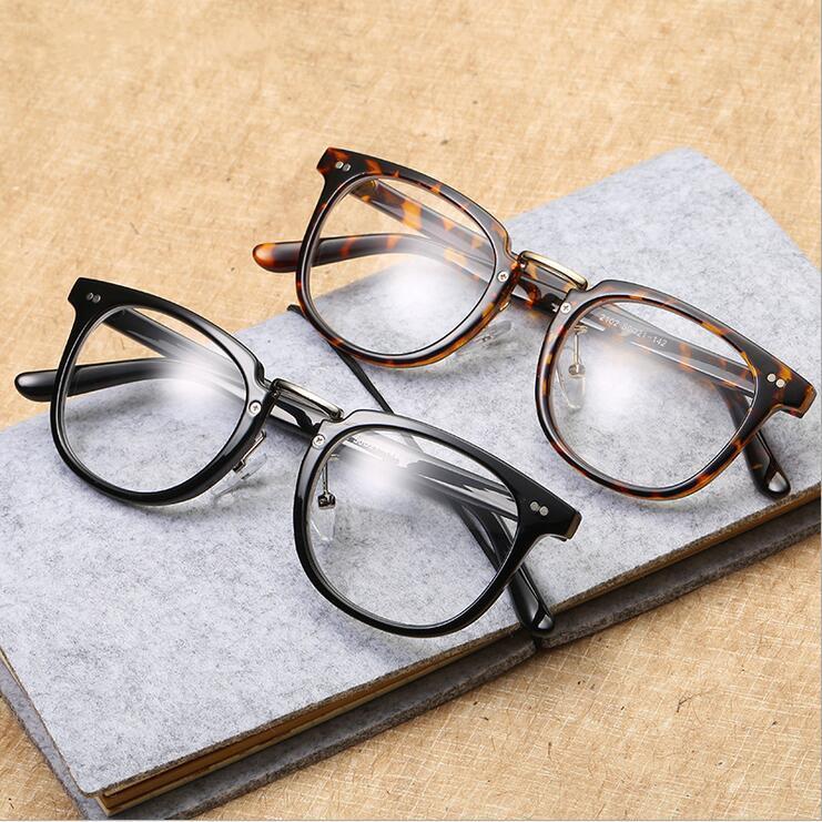 Compre Vintage Retro Armações De Óculos Rebite Olho Óculos De Armação Com  Lente Clara Oversized Oculos De Grau De Marquesechriss,  35.47    Pt.Dhgate.Com a246976b3e