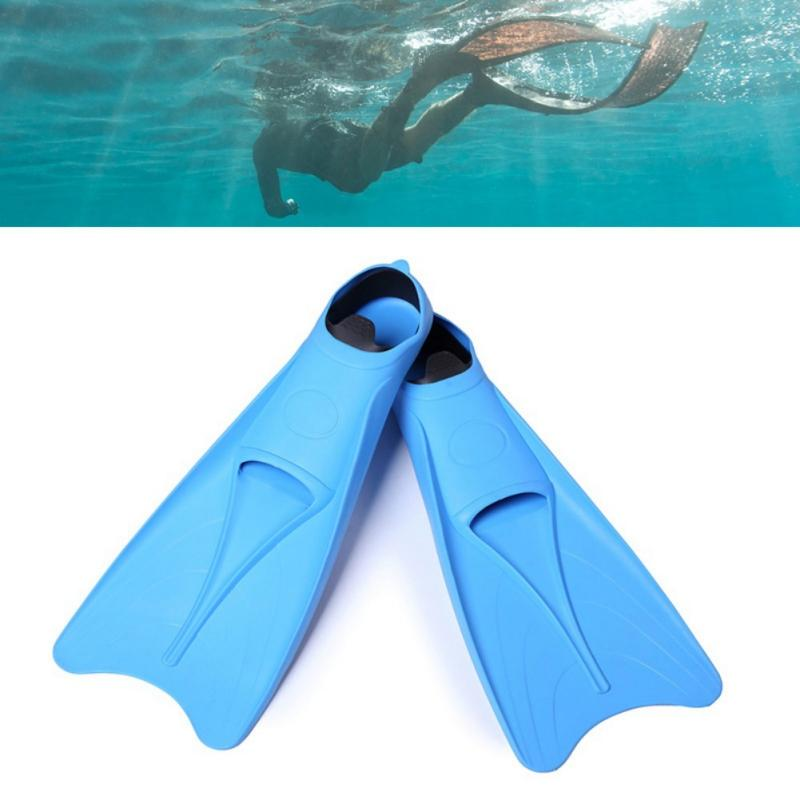 Adult Profession Snorkeling Diving Swimming Fins Foot Fins Flippers Flexible Comfort Diving Swimwear Water Shoes Sportswear