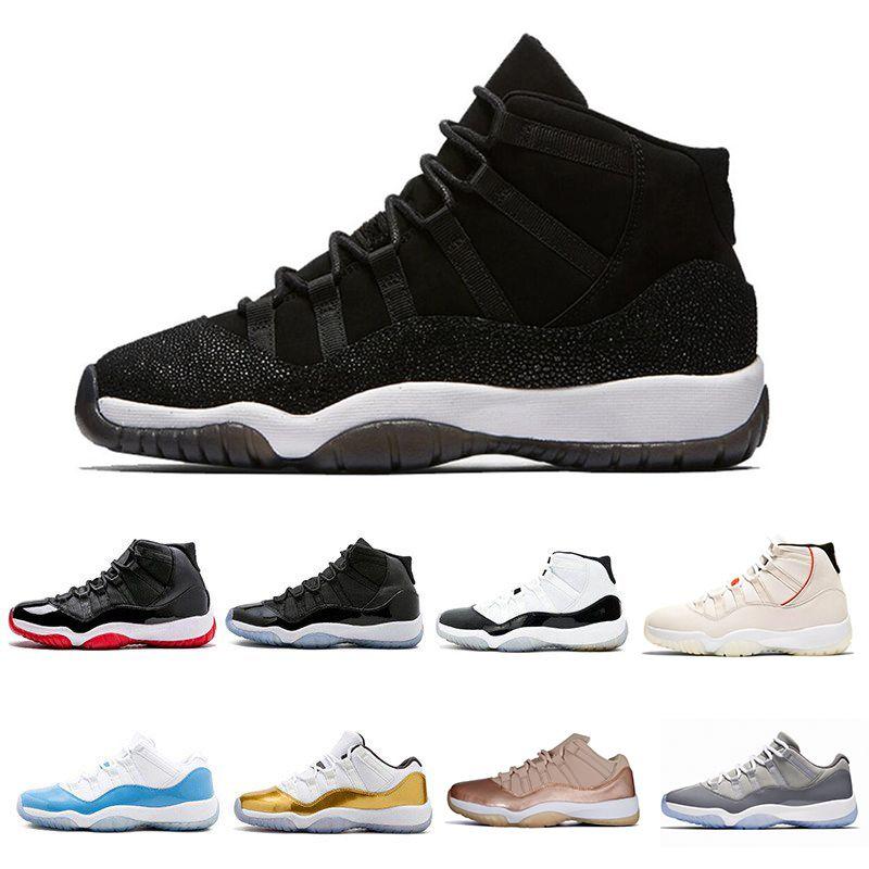 5d2de9a6893a95 Platinum Tint Concord High 45 11 XI 11s Cap And Gown Men Basketball ...
