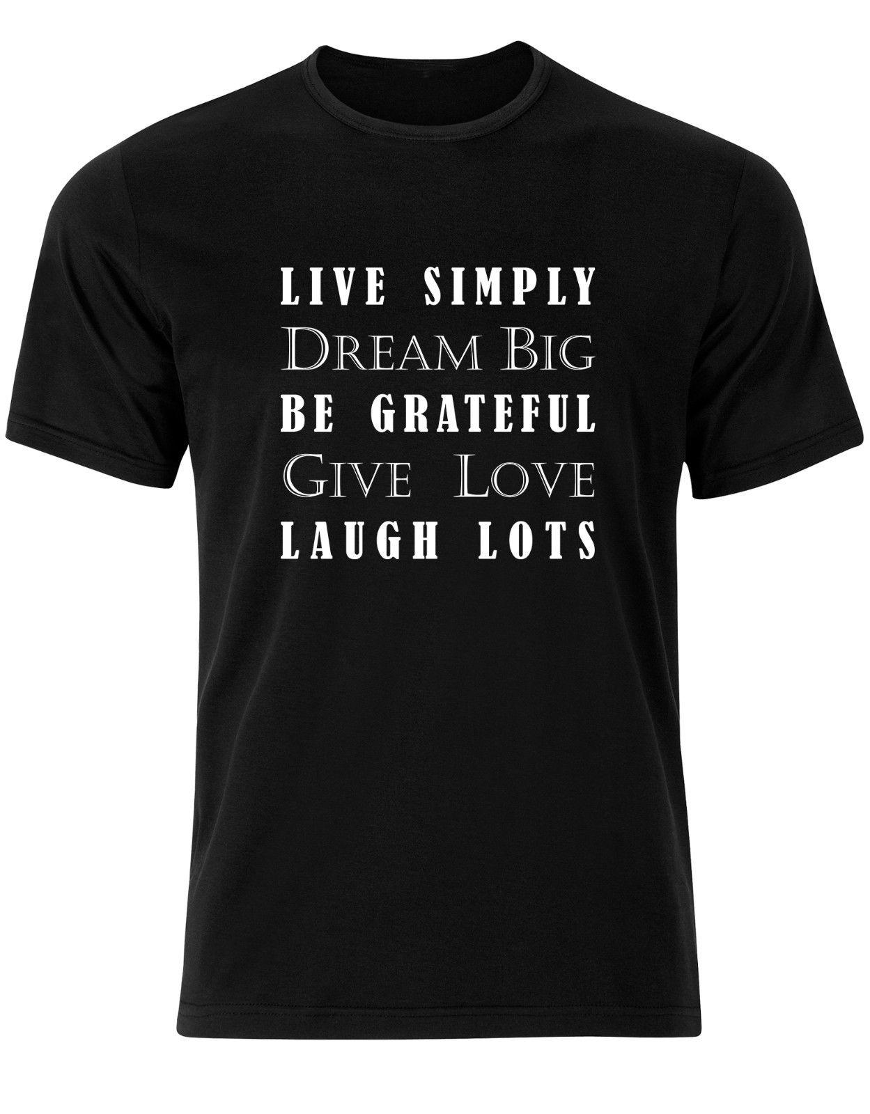 16cd35731 Live Simply Dream Big Mens Tee Shirt Top AJ17 Suit Hat Pink T Shirt RETRO  VINTAGE Classic T Shirt Shop For T Shirts Online T Shirt With A T Shirt On  It ...
