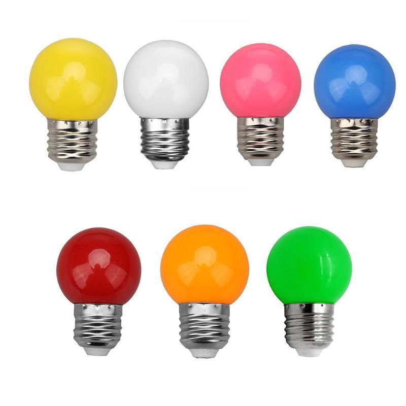 De E27 Lampe Colorée Decor 3w Lamp Ampoule Home Led Décoration Smd2835 Globe VSzUpqM