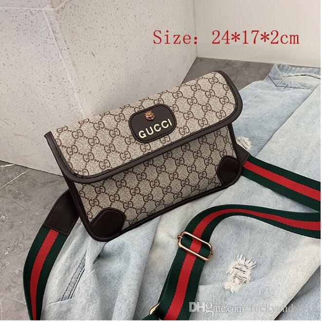 94d250c873 2019 NEW Shoulder Bag Ladies And Men Messenger GUCCI Bag Cosmetic ...