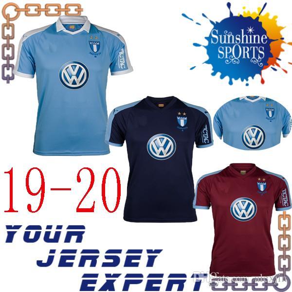 793ca05018f 2019 New Malmö FF Soccer Jersey 19 20 Home Blue Away Gray Third Football  Uniform 2019 2020 Shirt From Alexjin
