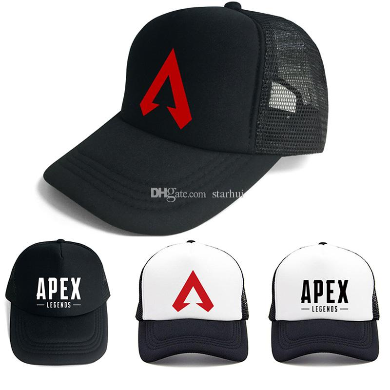 f507cd468c8 New Apex Legends Game Caps Summer Mesh Fashion Outdoor Baseball Cap Hip Hop  Hat Protector Sun Hats For Men Women Party Hats WX9 1237 Party Crowns For  Kids ...