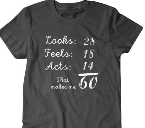 60th Birthday Gift T Shirt Great Gifts For Granpa Husband Funny S 2018 Fashion Summer Short Sleeves Tee Print Fitness Slogan Shirts