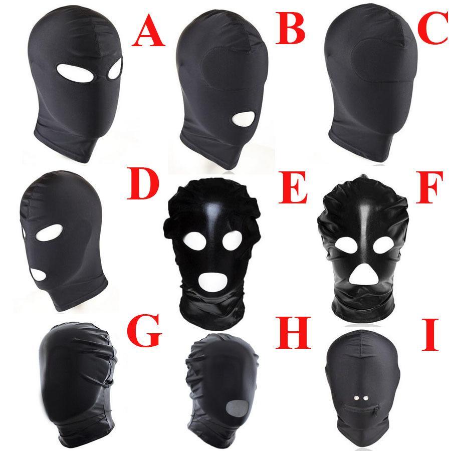 Cosplay Head Mask,Fetish Unisex BDSM Hood Mask Blindfolded,BDSM Restraints  Bondage,Halloween Adult Sex Toys For Couple C18112701 Onlinegames Adult  Cartoons ...