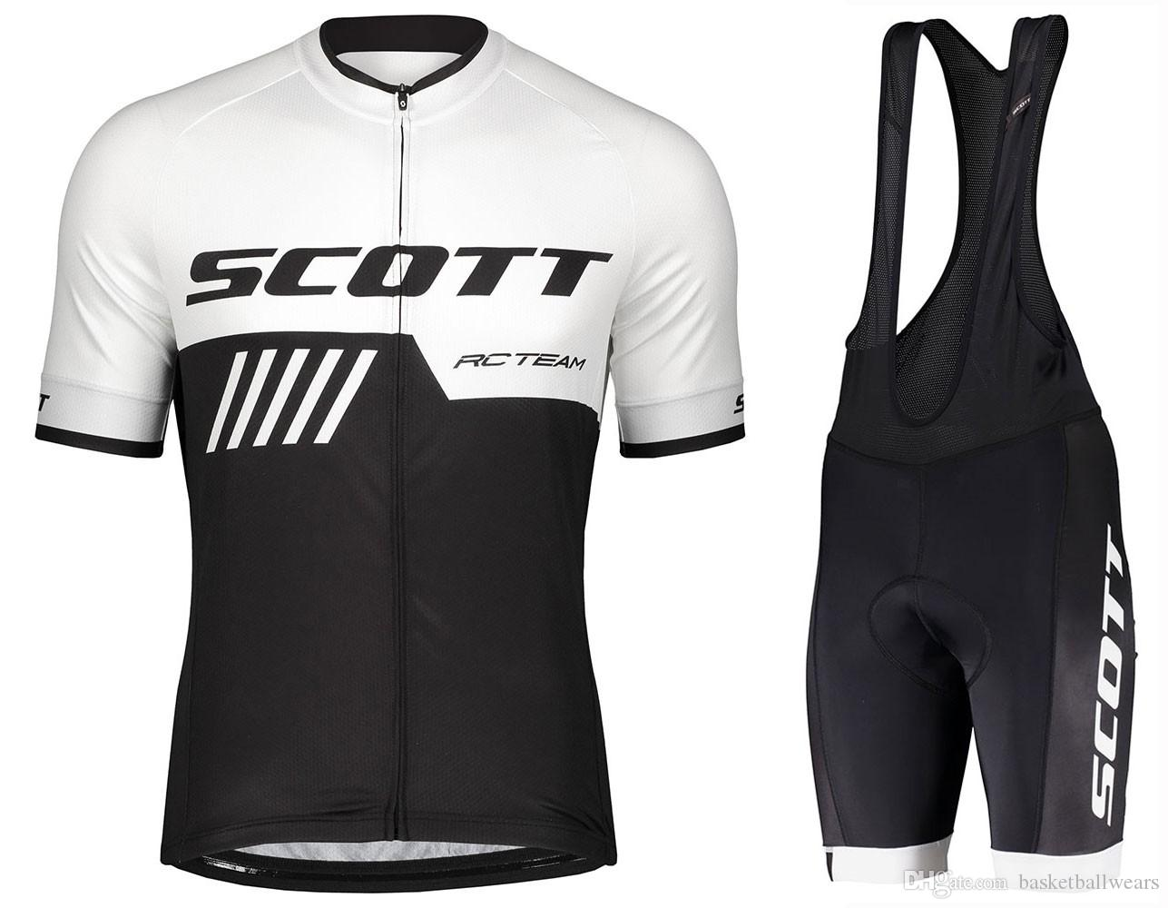 2019 Mens Cycling Jersey Bicycle Scott Motocross Clothing MTB Mountain Tight Top