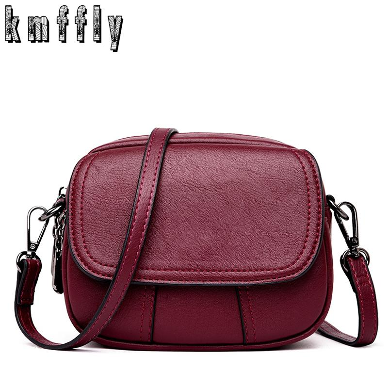 2019 Fashion KMFFLY Luxury Handbags Women Bags Designer Crossbody Bags Women  Small Messenger Bag Women S Shoulder Bag Bolsa Feminina Leather Bags For  Women ... 9c2a1420e2dfd