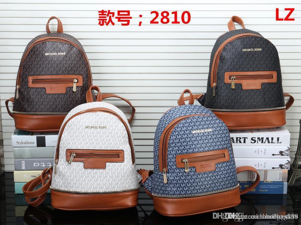 MK 2810 NEW Styles Handbag Famous Designer Brand Name Fashion Leather  Handbags Women Tote Shoulder Bags Lady Leather Handbags Bags Purse Online  with ... 81cfe3b246b08