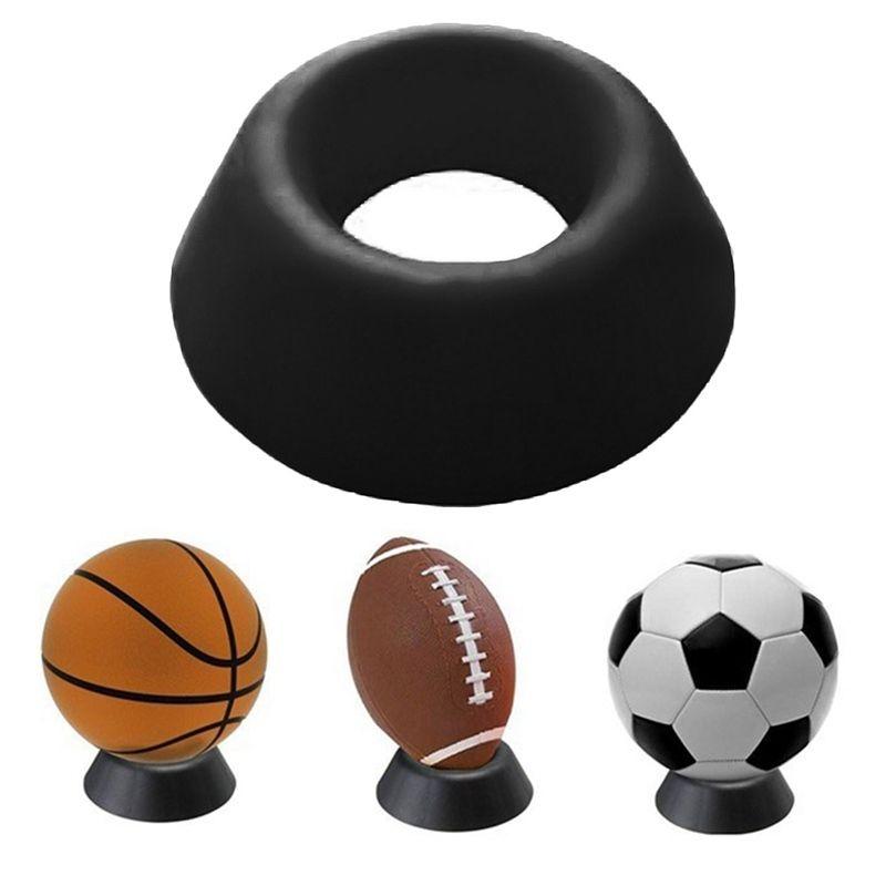 44d3f4af1b9fa Compre Suporte De Bola De Plástico De Basquete De Futebol De Futebol Rugby  Plastic Display Holder Para Caixa Caso Simples E Conveniente Prático    15271 De ...