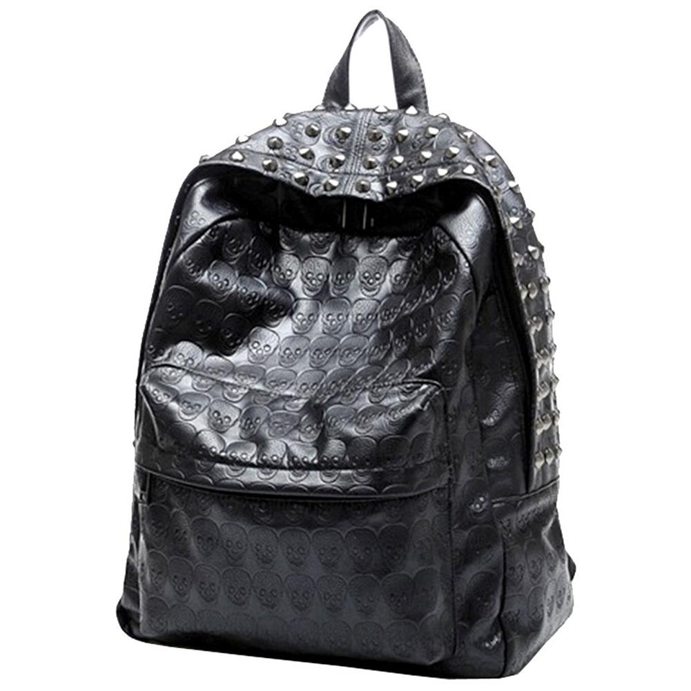 d8b13134d228 ABDB-Women Life Girl Punk Style Polyurethane Pu Leather Backpack Purse  Backpacks Cheap Backpacks ABDB Women Life Girl Punk Style Online with   35.21 Piece on ...