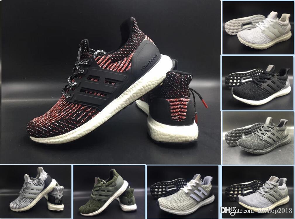9eeb4e59e 2019 Ultraboost Clima 3 0 4 0 Casual Shoes Core Triple Black White Ultra  Boosts Runner Men Women Leisure Trainers Sport Sneakers Size 5 11 Walking  Shoes ...