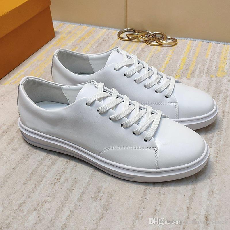 8adb889c30a643 Acheter Nouveaux Hommes Chaussures Casual Marque De Luxe Appartements De  Formateur De Mode Baskets De Chaussures Plate Forme Zapatos De Hombre D'été  ...