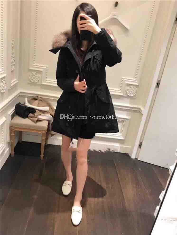 Black Green jackets for women's thicken casual coats 90% Brand Down Coats comfortable thickening warm down Fox fur collar down jacket winter
