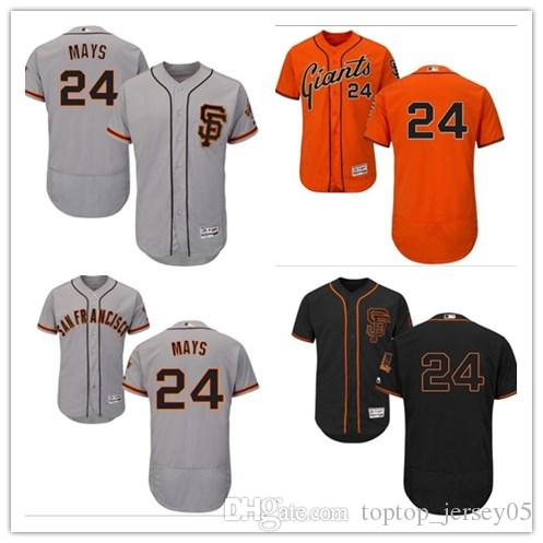 new styles 32b12 a574f 2018 San Francisco Giants Jerseys #24 Willie Mays Jerseys  men#WOMEN#YOUTH#Men s Baseball Jersey Majestic Stitched Professional  sportswear
