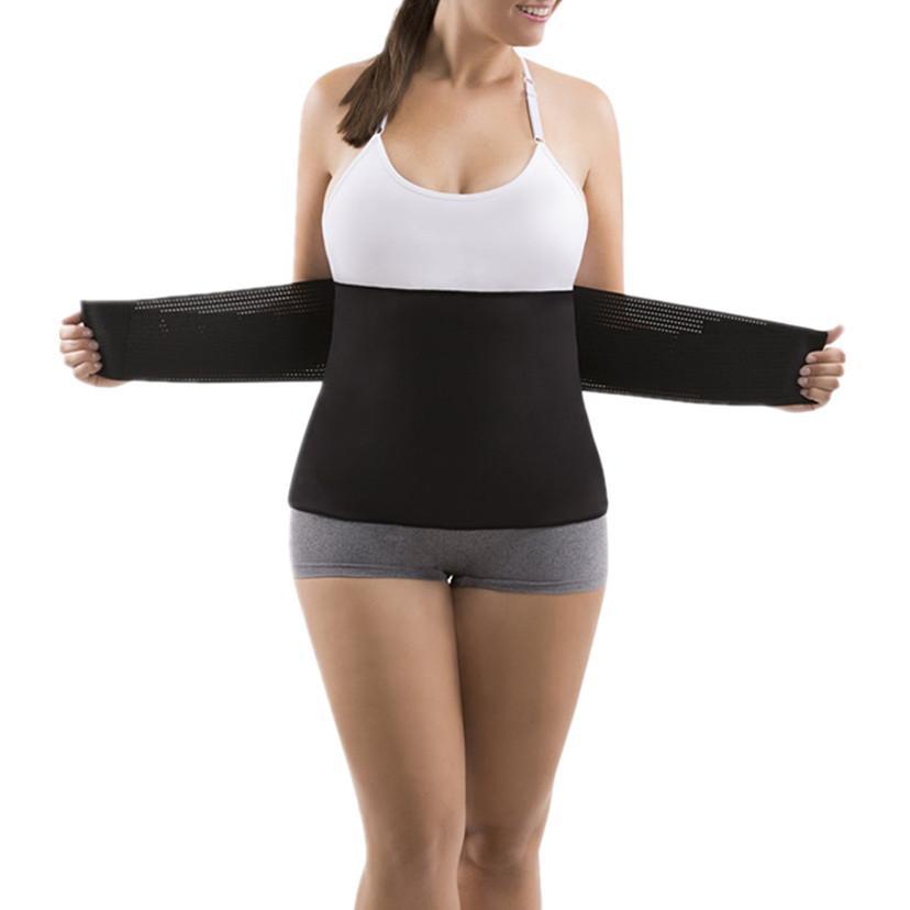 995709f7e0 2019 Women s Waist Trainer Corset Slimming Belt New Sweat Sauna Belt ...