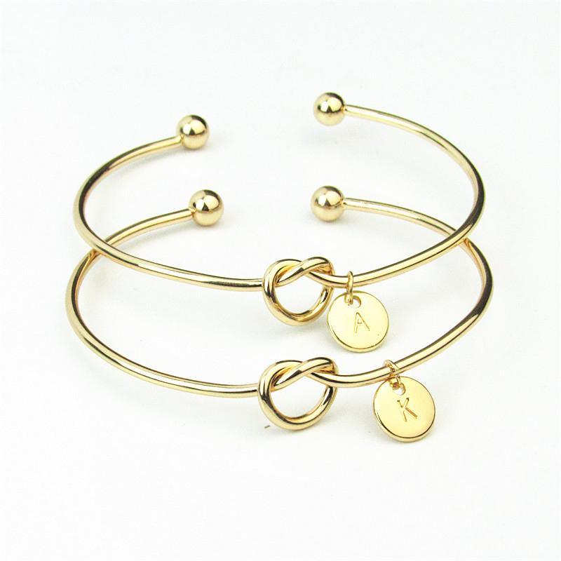 Personalización personalizable Infinity Forever Love Nnot Bracelet Bangle  Regalos para damas de honor