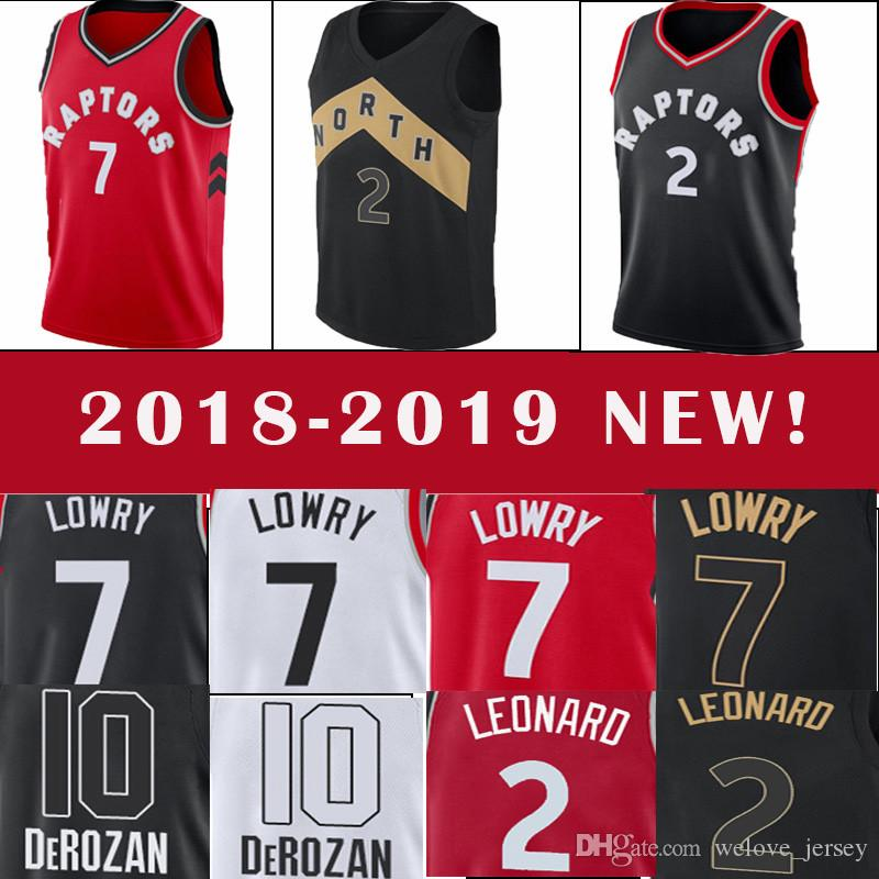 98989b73 2019 Toronto Men'S Raptors Kawhi 2 Leonard 7 Lowry DeMar 10 DeRozan Spurs  Jersey Popular Basketball Jersey 2018 2019 NEW TOP Quality From  Welove_jersey, ...