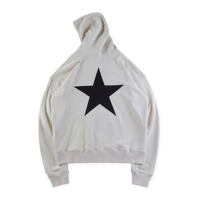 94109cf466d9 2019 19ss Fashion Spring Autumn Fear Of God Essentials Skateboard Star Oversize  Hoodie Hoody Men Women Hooded Sweatshirt Coat From Mifashioncostume