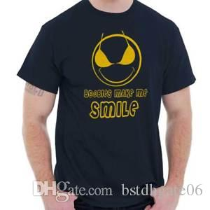 Boobies Make Me Smile Funny Novelty Gift Mens T Shirts T Shirts Tees Tshirt