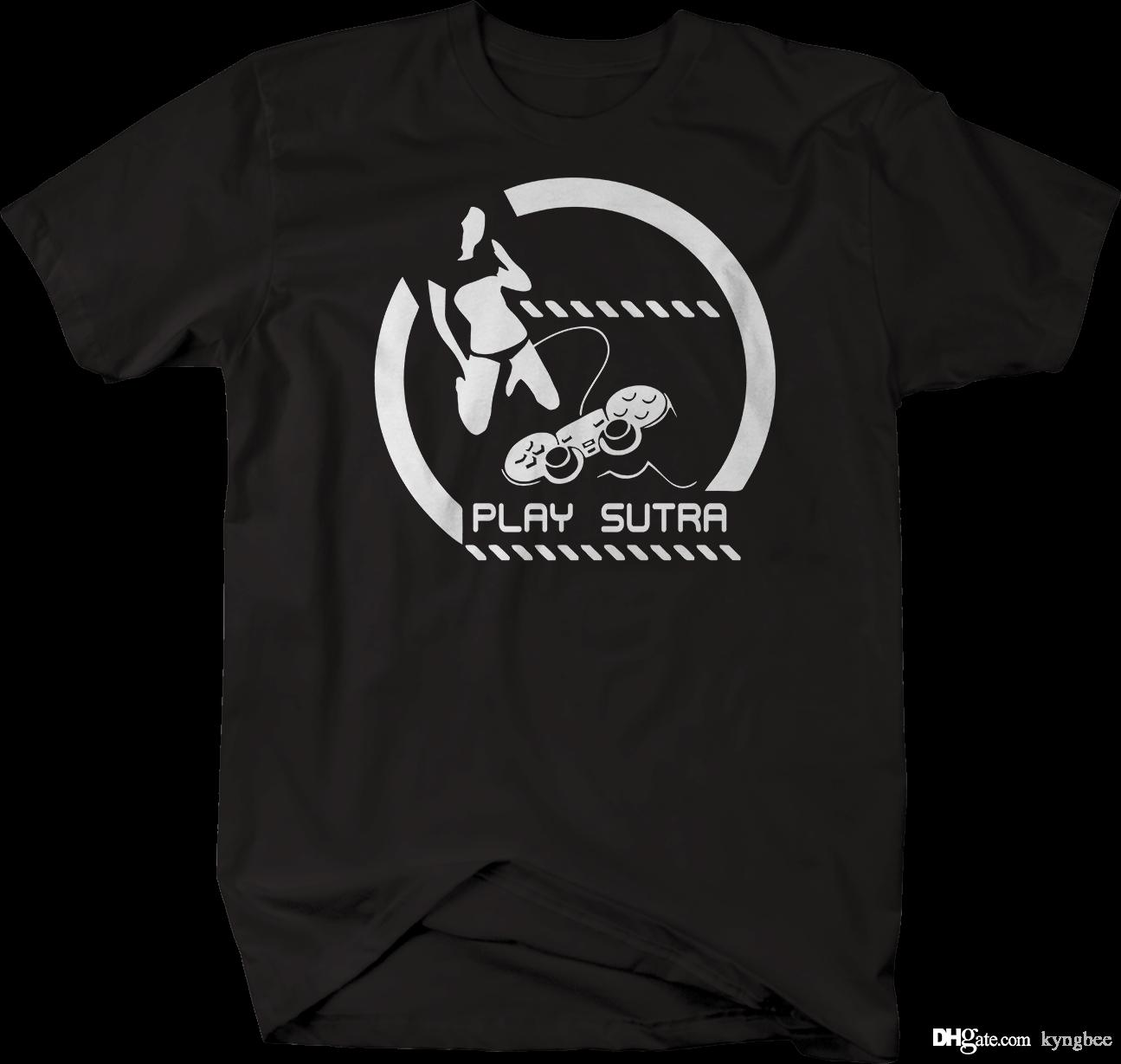 18deff6d Play Sutra Video Game Kama Tshirt Best Designer T Shirts Funny Team Shirts  From Kyngbee, $10.72  DHgate.Com