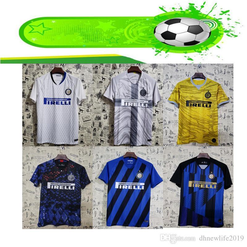 9a1596e41 2019 20 Anniversary Inter Jersey CANDREVA EDER ICARDI JOVETIC Milan Home  Away Kondogbia Jovetic 2019 Icardi Sports 18 19 Inter Shirts From  Dhnewlife2019, ...