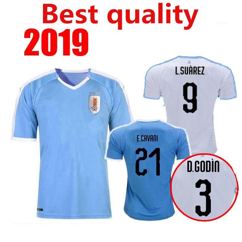 4939e38bdab Uruguay 2019 Copa America Soccer Jersey Home Blue Away 19 20 Camisetas De  Futbol CAVANI SUAREZ D.GODIN Football Uniforms Shirt From Product2010