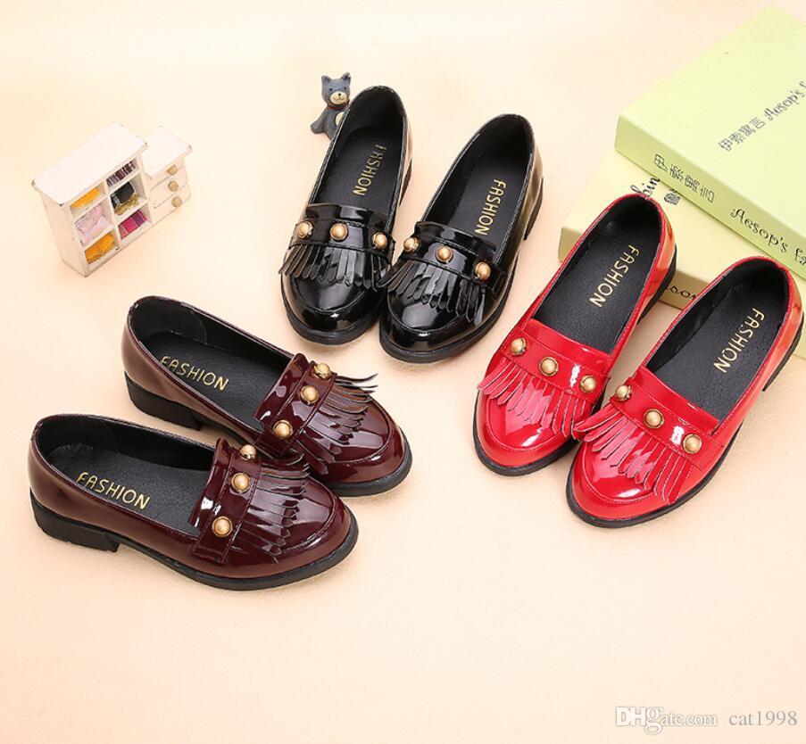 789e66f90f6e5 Acheter Chaussures En Cuir Pour Filles