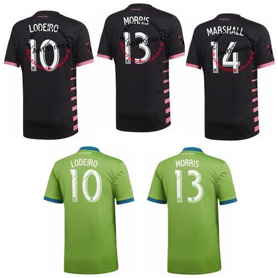 4f6582c397bde 2019 2020 Seattle Sounders FC LODEIRO 10 MORRIS MARSHALL MAILLOT DE FOOT  SURVETEMENT Camisetas De Fútbol De Calidad Tailandesa Camisetas De Fútbol  De ...